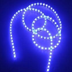 See Water & Wood Blue 120cm 120LED Car Van Neon Waterproof Flexible Strip Light Lamp Bulb 12V Details
