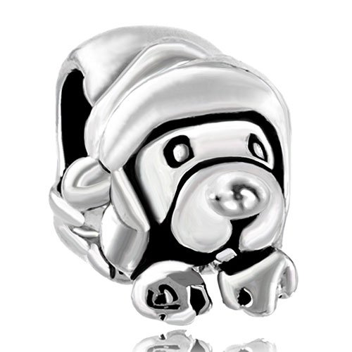 Pugster Cute Puppy Dog Animal European Bead Fits Pandora Chamilia Biagi Charm Bracelet