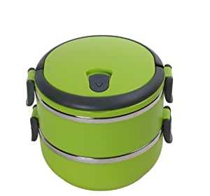 Amazon.com: Cao Camping Thermal Lunch Box Green 1.4 L: Sports