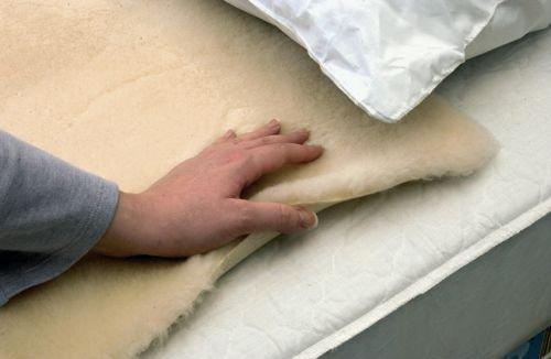 Unbekannt Health and Care Matratzenauflage zur Druckentlastung, Fleecestoff, 68,5x76cm