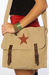 Rothco Women's The Khaki Vintage Medic Bag by Rothco