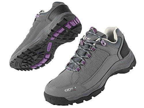 Damen Trekkingschuhe Wanderschuhe Trekking Schuhe Gr. 38 Grau/Violett