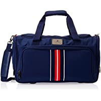 Tommy Hilfiger Polyester Navy Blue Travel Duffle (TH/PAN08150)