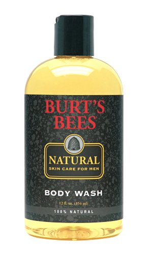Burt'S Bees Natural Skin Care For Men Body Wash, 12 Fluid Ounces (Pack Of 3) front-994957