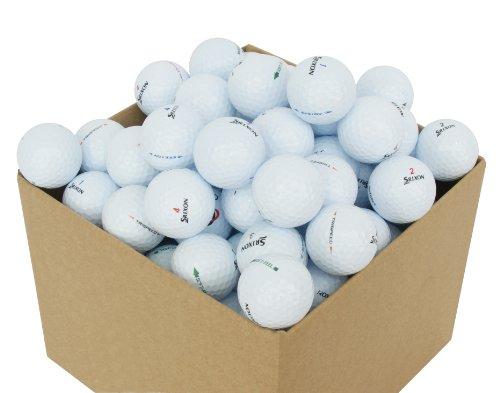 Second Chance Golf Lakebälle Srixon 100 Premium Grade A, weiß, PRE-100-BOX-SRI