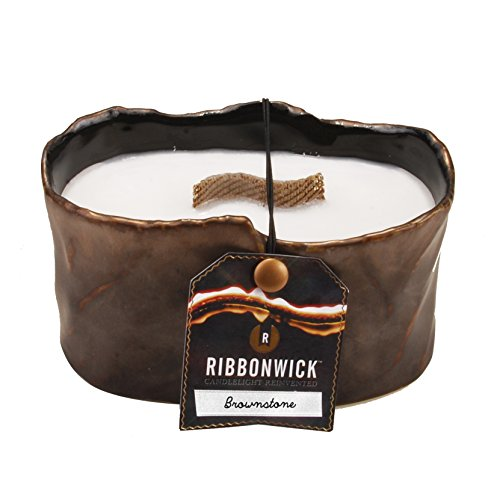 woodwick-by-pajoma-62522-ribbo-nwick-brown-stone-candela-profumata-collection-ovale