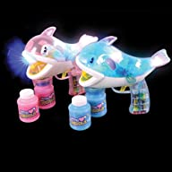 Whale LED Bubble Gun Party Accessory