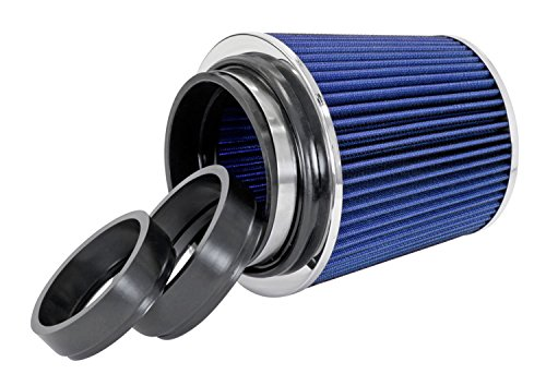 Spectre Performance 8136 Blue/Chrome Cone Air Filter (Harley Cone Air Filter compare prices)