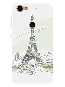TREECASE Designer Printed Hard plastic Back Case Cover For LeEco Le 1S Eco