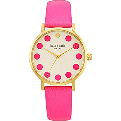 kate spade watches Bazooka Pink Dot Metro by kate spade watches