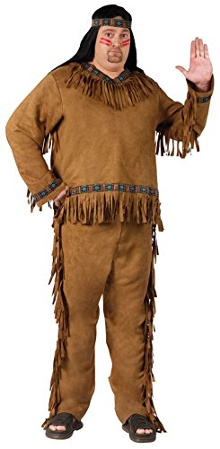 Wild West Native American Indian Plus Size Adult Costume