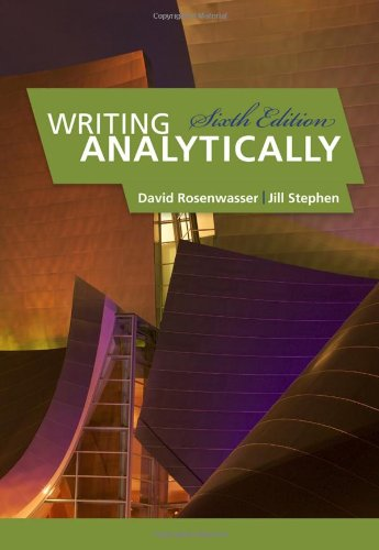 Writing Analytically: Chapter 5 (Interpretation)