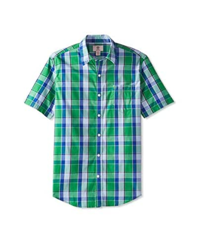 Timberland Men's Plaid Short Sleeve Shirt