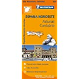 Carte Espagne Asturies Cantabrique  Michelin