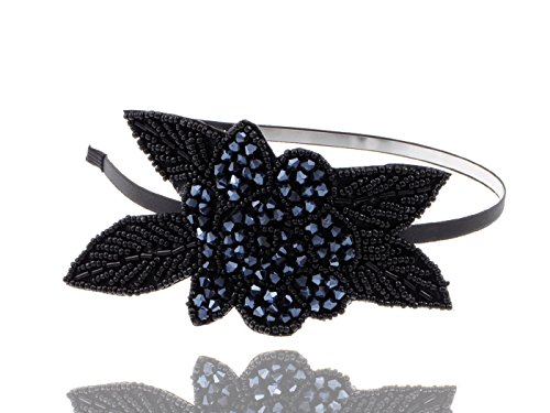 Alilang-Womens-Flapper-Crystal-Beaded-Black-Blue-Flower-Headband-1920s-Great-Gatsby-Vintage-Style