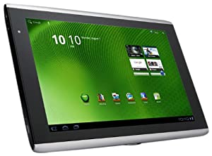 Acer Iconia Tab A500-10S32u 10.1-Inch Tablet (Aluminum Metallic)