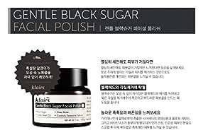 KLAIRS Gentle Black Sugar Fcial Polish, Korean Cosmetics, Korean Beauty, Kpop Beauty, Kstyle