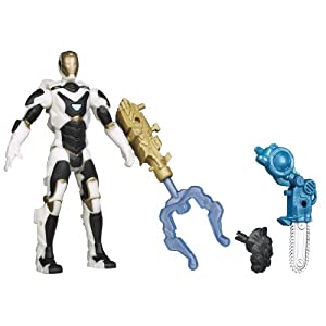 Marvel Iron Man 3 Avengers Initiative Assemblers Interchangeable Armor System Starboost Iron Man Figure