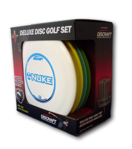 discraft-deluxe-disc-golf-set-4-disc-and-bagmodels-and-plastic-blends-may-vary