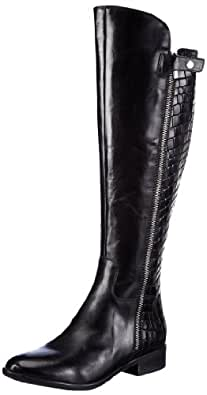 Clarks Licorice Snap 20356730, Damen Stiefel, Schwarz (Black Combi Lea), EU 39.5