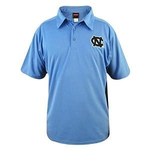 North Carolina Tar Heels Mens S S Coaches Polo by Genuine Stuff