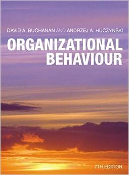 organisational behaviour mcshane olekalns 5th edition pdf