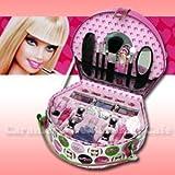 【Barbie バービー】ビューティーケース メイクアップセット 子供用化粧品