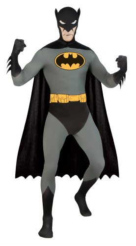 DC Comics Adult Batman 2nd Skin Zentai Super Suit Costume