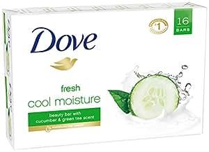 Dove Beauty Bar, Cool Moisture 4 oz, 8 Bars Twin Pack