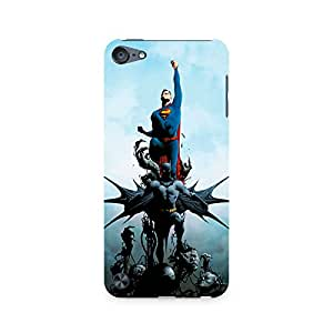 Ebby Batman vs Superman Comic Premium Printed Case For Apple iPod Touch 6