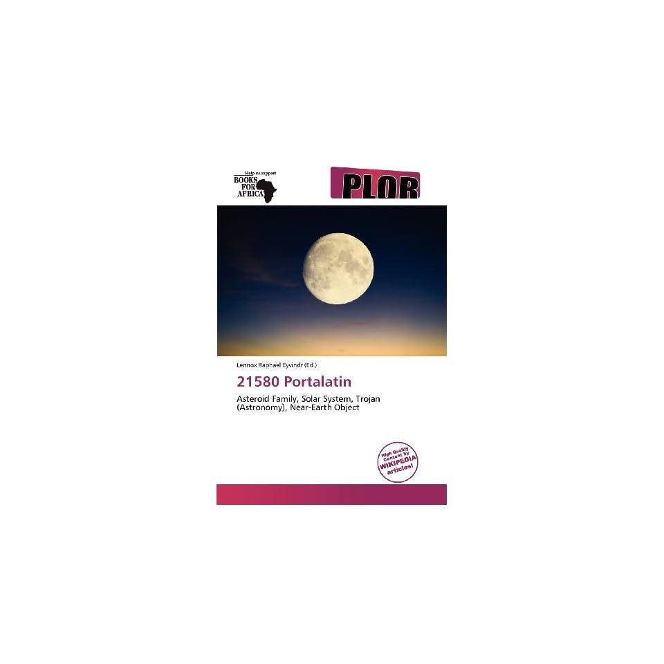 21580 Portalatin (9786138602095) Lennox Raphael Eyvindr Books