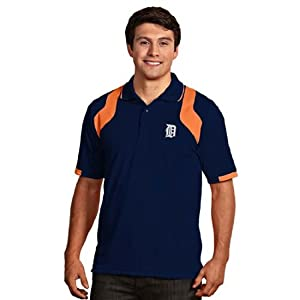Detroit Tigers Fusion Polo (Team Color) by Antigua