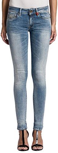 Replay Damen Skinny Jeans Luz, Gr. W27/L34 (Herstellergröße: 27), Blau (Blue Denim 10) thumbnail