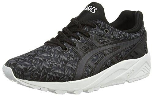 ASICS Gel-kayano Trainer Evo - Scarpe da Ginnastica Basse Unisex - Adulto, Nero (black/dark Grey 9016), 42 1/2 EU