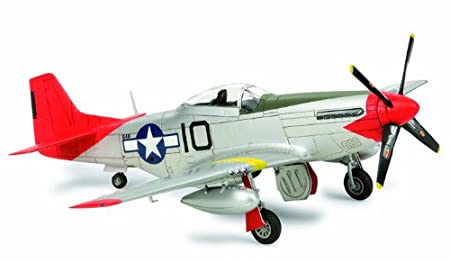 Tamiya - 25148 - Maquette - Aviation - P-51d Mustang Tuskegee