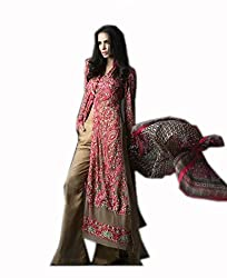 Kashmira's soft net embroidered suits