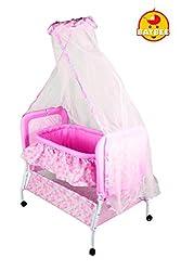 Baybee Sleep-in Cradle (Pink)