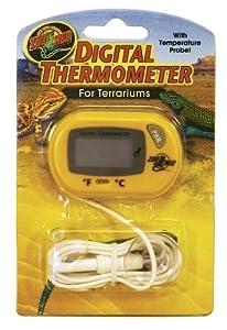 ZOO MED/AQUATROL, INC - DIGITAL TERRARIUM THERMOMETER