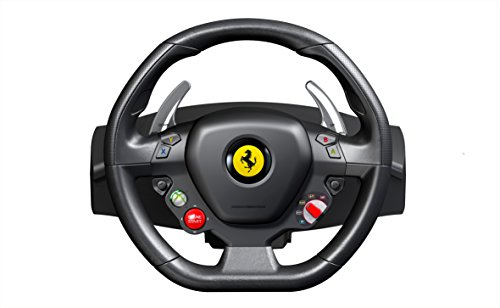 Thrustmaster Ferrari 458 Racing Wheel for Xbox (Xbox360 Pedals And Steering Wheel compare prices)