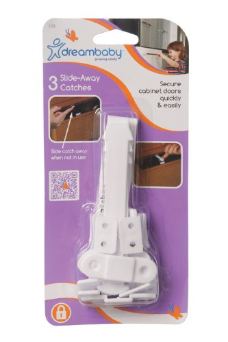 Dreambaby Slide Away Catches 3 Pack