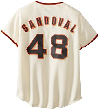 MLB San Francisco Giants Pablo Sandoval Ivory Home Replica Baseball Ladies Jersey,... by Majestic