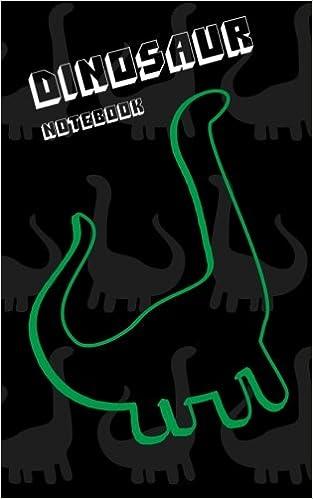 Dinosaur Lined Notebook