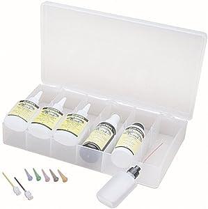 J.E. Moser's 909940, Adhesives, Instant, Lightning Bond Glue Kit, 1 Each