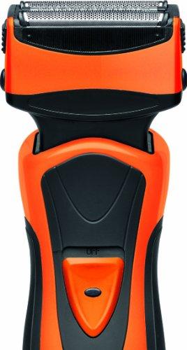 AEG-HR-5626-Afeitadora-elctrica-color-negro-y-naranja