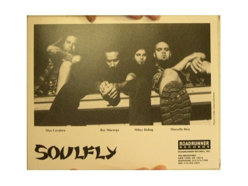 Soulfly Press Kit and Photo Roots Chaos A.D. Soul Fly