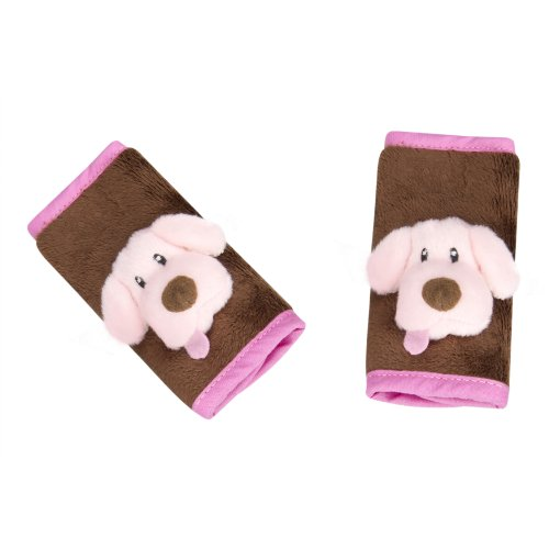 Jeep 2 Count Strap Covers, Pink Puppy - 1