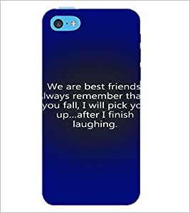 PrintDhaba Quote D-3287 Back Case Cover for APPLE IPHONE 5C (Multi-Coloured)