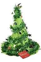 Weihnachtsmütze Grün Tannenbaum Hut Christbaum Mütze
