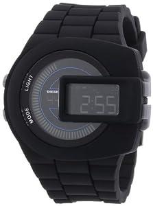 Diesel DZ7274 - Reloj digital de cuarzo para hombre, correa de plástico color negro