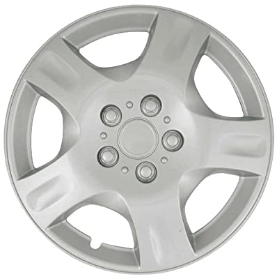 CCI IWCB942-15S 15 Inch Clip On Silver Finish Hubcaps - Pack of 4